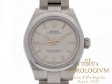 Rolex Oyster Perpetual 28 MM Ref. 276200 watch, silver